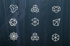 Geometric Logo Exhibition on Behance