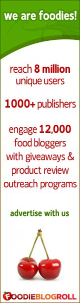 Advertise with Foodie Blogroll