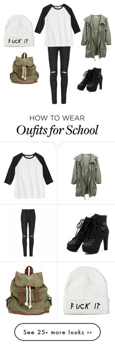 """Back to school 2015"" by amber-de-bleeckere on Polyvore featuring Ally Fashion and Wet Seal"