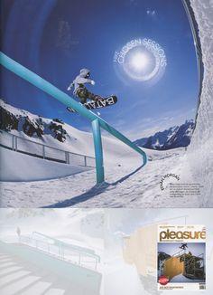 Pleasure - German Austrian Magazine - Ethan Morgan - Snowboard Team - Aug12