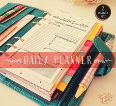Daily Planner ~ Veranstalter Größen ~ persönlicher Organisator, Pocket Organizer