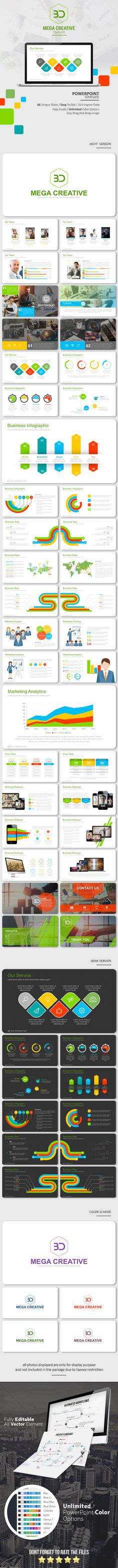 Mega Creative PowerPoint Template. Download here…