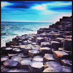 Giant's Causeway in Moyle, Moyle