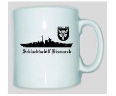 Tasse Schlachtschiff Bismarck / mehr Infos auf: www.Guntia-Militaria-Shop.de