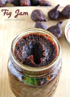 How to make Fig Preserves (Jam) with Dried Figs? | Spicy Tasty (I will substitute pear for strawberries)