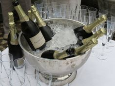 Bottles on ice! Our brand new MCC.