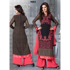 #Monica #Bedi #Palazzo Style Black #Salwar #Kameez  shop now--->> http://goo.gl/vsBKfr