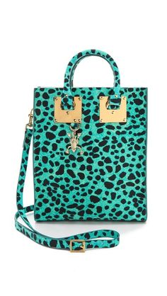 Retail Therapy and Weekend Wants by The English Room | The English Room | Sophie Hulme Leopard Mini Tote Bag #currentlyobsessed