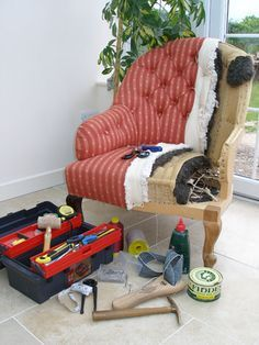 Excellent upholstery help, explanations, tips and tricks!