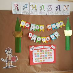 oyunlaegitim: RAMAZAN PANOSU 2 Ramadan Activities, Ramadan Crafts, Activities For Kids, Islamic Decor, Holiday Traditions, Kids And Parenting, Kindergarten, Holiday Decor, Projects To Try