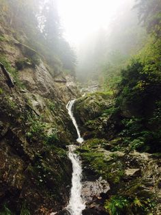 Slovakia, nature, waterfall