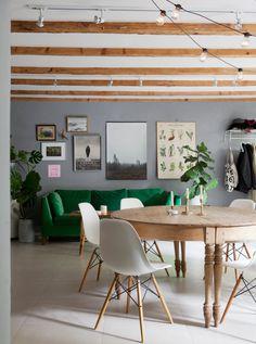 A lovely laid back flat in Malmö, Sweden | my scandinavian home | Bloglovin'