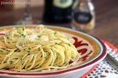 PANELATERAPIA - Blog de Culinária, Gastronomia e Receitas: Espaguete Alho e Óleo