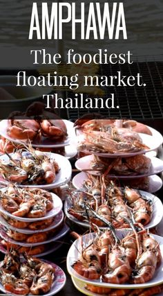 Amphawa floating market near Bangkok, Thailand, is the foodiest floating market and a great weekend trip. via @worldtravelfam/