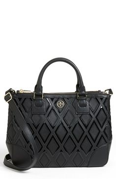robinson double zip tote / tory burch