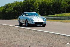 #Ferrari #275 #GTB/C sur la piste de #Dijon_Prenois au #GPAO Article original : http://newsdanciennes.com/2015/06/07/news-danciennes-au-grand-prix-de-lage-dor/ #Racecar #VintageCar #ClassicCar