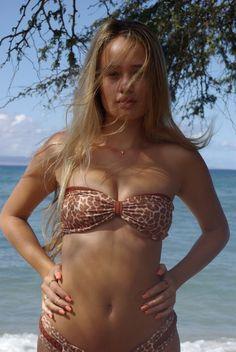 db8793cc1a91b Items similar to VANUA  Fishnet REVERSIBLE Bandeau Bikini Top on Etsy
