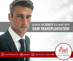 #Hairtransplantation gives you manageable hair. The newly implanted hairs grow just like the existing hairs. Therefore, it eliminates the need to use any special expensive shampoos. Moreover, you won't have to visit the clinic frequently. It is a one-time investment if carried out perfectly.