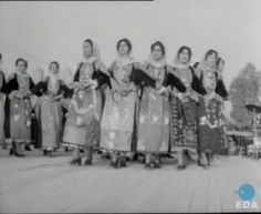 The Trata dance festival in Megara. Central Square, Late 20th Century, Athens Greece, Old Photos, Folk Art, Dance, Costumes, Embroidery, Period