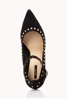 Pumps mit Zacken - Damen Schuhe und Stiefel | online shoppen | Forever 21 - 2000076041 - Forever 21 EU Deutsch