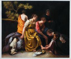 Vermeer, Diana en haar nimfen. 1654, 98*105 cm.