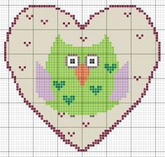 owl valentines patterns