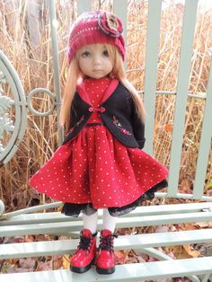 "CHIDITTA Set for 13"" Little Darling Effner or similar Kish BJD 12"" Doll"
