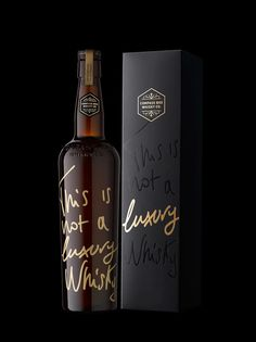 This is not a Luxury Whisky on Packaging of the World - Creative Package Design Gallery