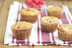 A simple and delicious paleo raspberry almond muffin