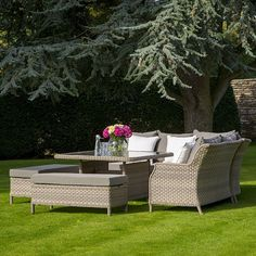 Frampton Casual Dining Corner Suite - Bents All Weather Garden Furniture, Outdoor Furniture Sets, Dining Corner, Outdoor Spaces, Outdoor Decor, Garden Ideas, Landscaping, Casual, Home Decor