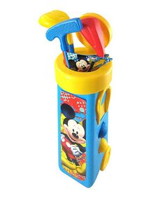 Love this Mickey Mouse Golf Set by Disney on #zulily! #zulilyfinds