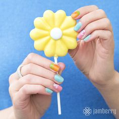 Fun Easter Nails at Jamberry!!