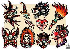 Las 999 Mejores Imágenes De Tatuaje Tradicional Americano En 2019