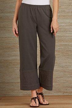 Neon Buddha Fair Trade West Ankle Pant  from Fair Indigo on Catalog Spree