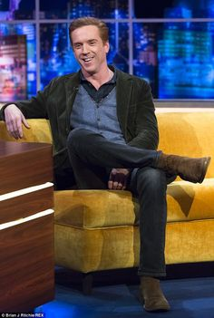 Modest: Damian Lewis joked during an appearance on The Jonathan Ross show that he knew he'd 'made it' when his Homeland character Nicholas Brody was referenced in a Jay Z song                                                                                                                                                                                 Mais
