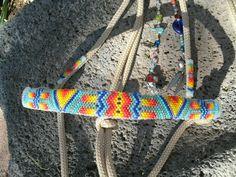 Beaded Rope Halter, Horse Tack - Halter. $165.00, via Etsy.