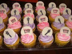 2nd Birthday Princess Cupcakes