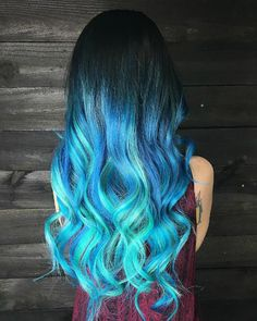 Beautiful Blue Ombres!