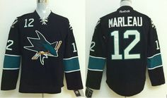 San Jose Sharks 12 Marleau Black 2014 Stadium Series NHL Jersey San Jose  Sharks Jersey 1eb7e6740