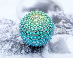 Spiral mandala stone - Mandala Stones