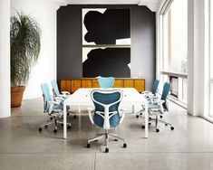 Layout Meeting Table by Herman Miller