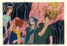 """Applesauce"", nuevo video de Animal Collective"