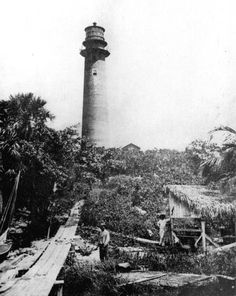 Jupiter Inlet Lighthouse, 1880