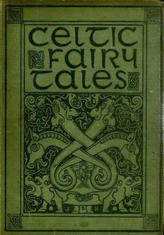 Celtic Fairy Tales Vintage Book cover
