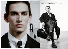 Dior Homme Notes Of A Day FW 2014 Campaign by Willy Vanderperre (4) Thibaud Charon