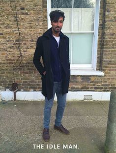 Men's Street Style - Mixing Blues - The Idle Man