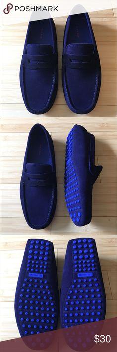 Zara Man Loafer Navy blue Zara Man loafer 10US/43EU Zara Shoes Loafers & Slip-Ons