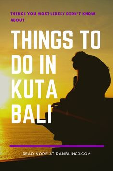 Bali is a paradise island where we can do so many fun things and popular for backpackers. Here are 10 popular things to do in Kuta Bali. Bali Things To Do In, Fun Things, Bali Travel Guide, Asia Travel, Bali Retreat, Bali Sunset, Kuta Bali, Travel Advise, Tourist Spots