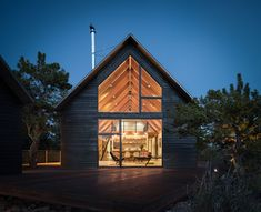 Big Cabin | Little Cabin By Renée del Gaudio Architecture