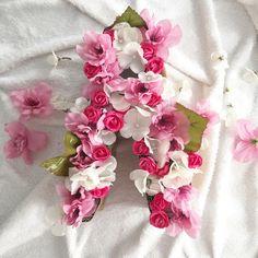 Diy Flower Letter 💕 #diy #diyproject